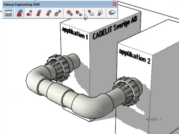 3Skeng pipe rör projektera detaljer