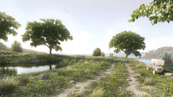 Skatter rendering