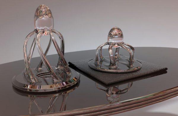 Artisan skulptur renderad
